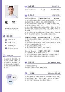 京东电商运营简历模板